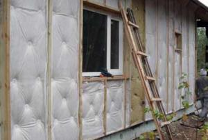Далее стоит выбрать Утеплитель для стен дома снаружи под сайдинг