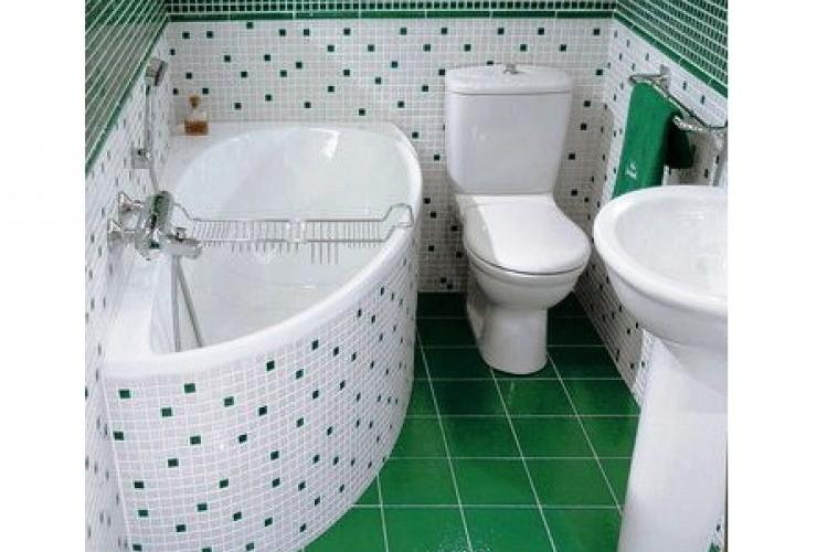 Дизайн хрущевской ванны