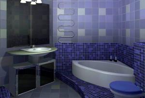 Широкий ассортимент доступных стройматериалов предлагает нам всевозможные варианты ванной комнаты