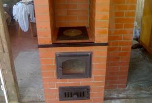 Печь отопительно варочная из кирпича может быть установлена самостоятельно
