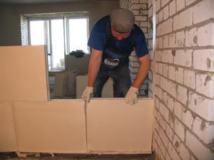 Перегородки из пазогребневых блоков в вашей квартире станут отличным вариантом для разграничения пространства