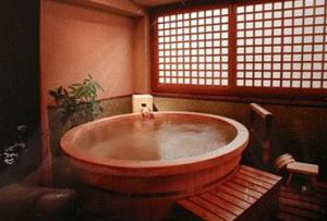 Японская баня — явление непривычное для европейцев